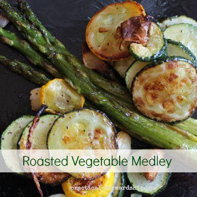 Roasted Vegetable Medley, V, DF, GF