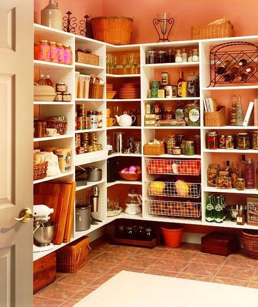 Effective Pantry Shelving Designs For Well Organized: Pantry/Food Storage Images On Pinterest