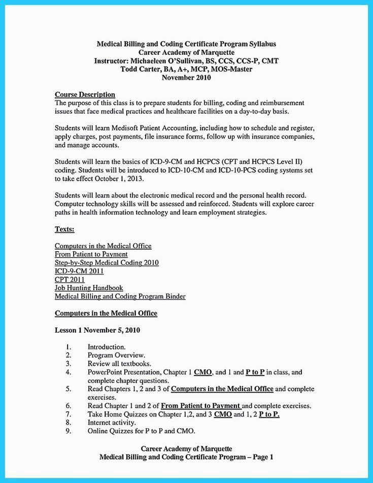 Professional Resume Example Instant Download 1 Page Resume Example For Ms Word Diy Resume Medical Assistant Resume Medical Billing And Coding Medical Billing