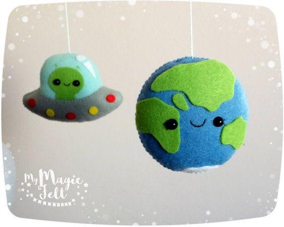 Espace mobile bébé aventure bébé garçon mobile planètes espace
