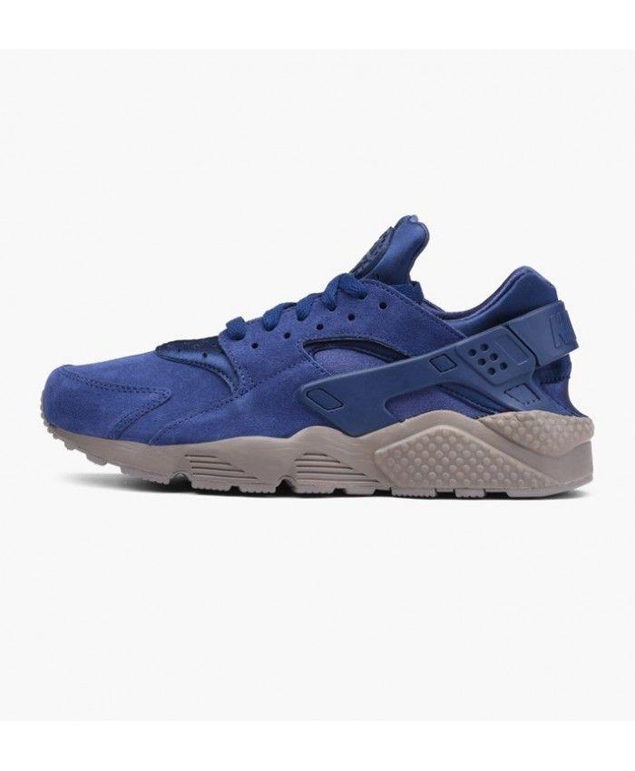 online store 6b2e2 508cc Nike Air Huarache Run Se Binary Blue Dark Maroon Sale