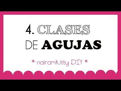 4. CURSO ONLINE APRENDE A COSER A MÁQUINA: CLASES O TIPOS DE AGUJAS - YouTube