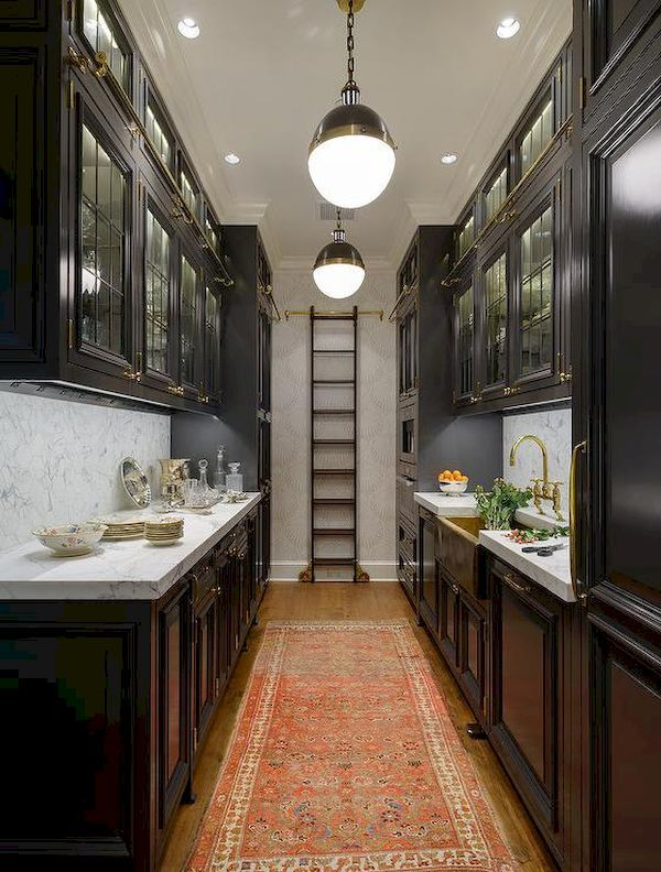 nice 45 Extraordinary Black and Brass Kitchen Decoration https://homedecort.com/2017/04/45-extraordinary-black-brass-kitchen-decoration/
