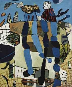 Lucebert (1924-1994) | De voetballers | Post-War & Contemporary ...