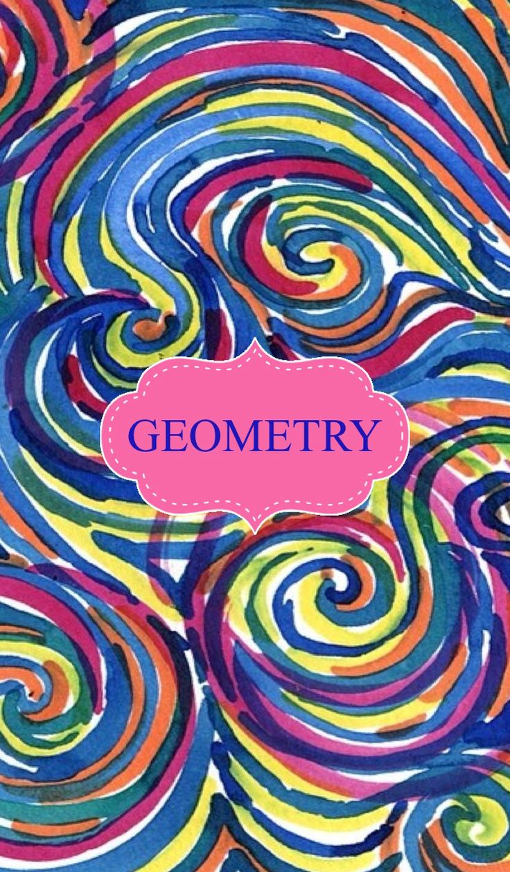Geometry Binder Cover | Binder Covers | Pinterest | Binder Covers and ...