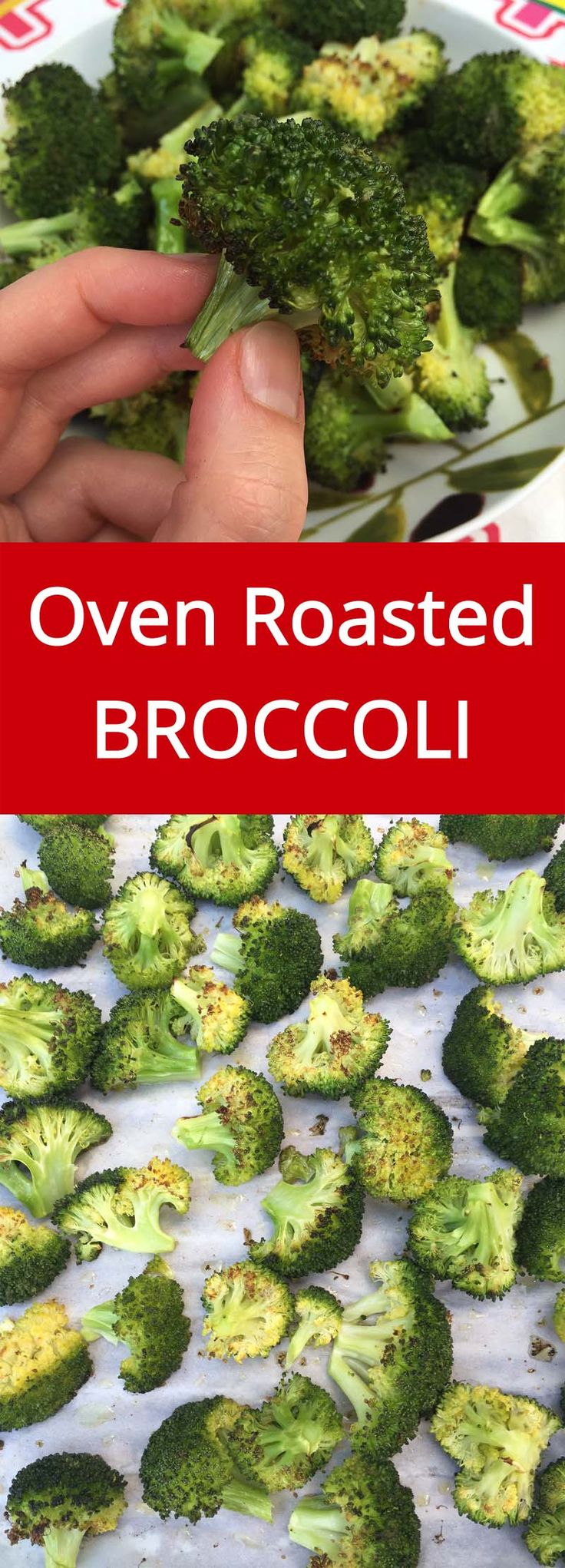 Roasted Broccoli is my favorite way of eating broccoli ever! So yummy and…