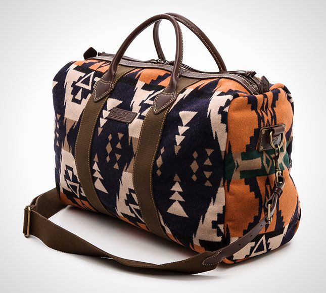A classic Pendleton duffel never goes out of style.