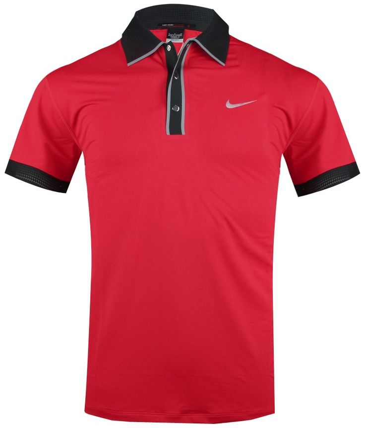 Nike golf polo tiger woods for Nike cotton golf shirts