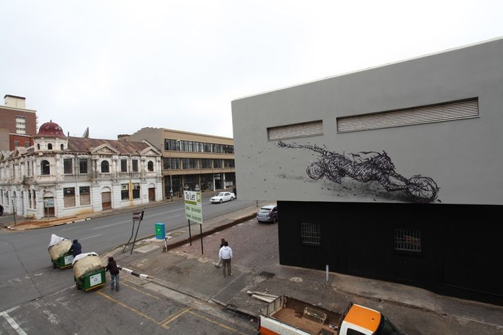 Street Art by DALeast - 'Counterattack Company-5', Johannesburg, South Africa 7