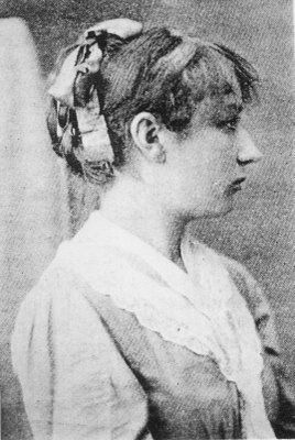 """Portrait of Camille Claudel, 1890's - It would be a mistake to assume that Claudel's reputation has survived simply because of her once notorious association with Rodin. The novelist and art critic Octave Mirbeau described her as """"A revolt against nature: a woman genius"""". Her early work is similar to Rodin's in spirit, but shows an imagination and lyricism quite her own. https://en.wikipedia.org/?title=Camille_Claudel"""