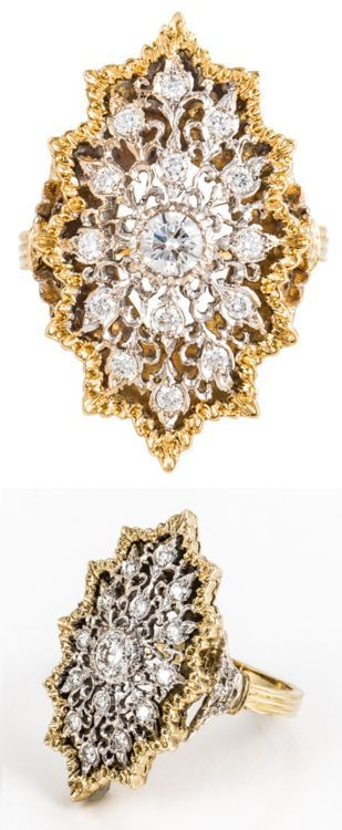 Bague Diamant – Tendance 2018 : Buccellati Diamond and Two