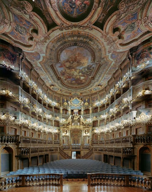 Margravial Opera House.Bayreuth, Germany