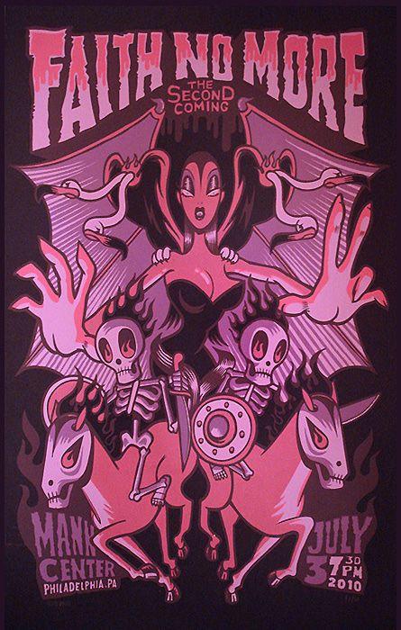 Faith No More @ Philadelphia  The Second Coming Tour 2010