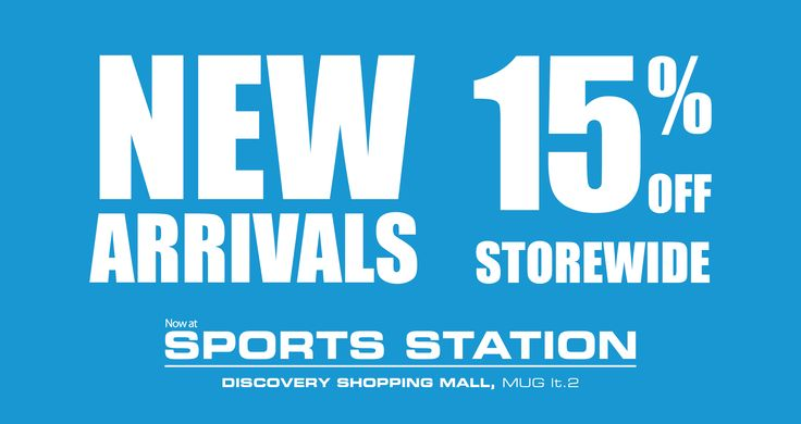"Get ready for new arrivals from @MAPActive with 15% off!, New Arrivals 15% off, 3 – 14 Agustus 2015  "" Bali World Premier Beach Mall "" Discovery Shopping Mall, Jl. Kartika Plaza, Kuta 80361 Phone : 0361 755522 Website : www.discoveryshoppingmall.com https://twitter.com/DISCOVERY_Bali http://pinterest.com/dsmbali http://instagram.com/dsmbali http://www.facebook.com/pages/discovery-shopping-mall/ http://www.tripadvisor.co.id/Attraction_Review-g297697-d160……"