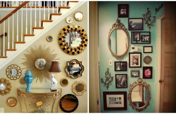 17 Best Ideas About Large Mirrors For Sale On Pinterest: 17 Best Ideas About Mirror Wall Collage On Pinterest