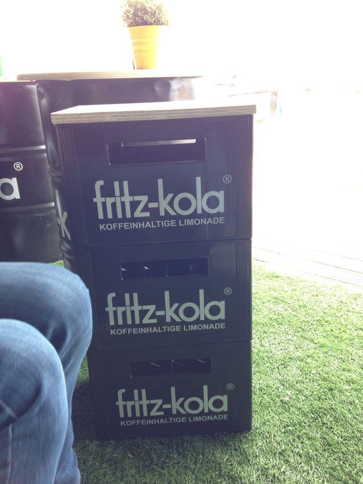 Fritz cola Hocker