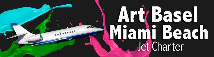 Art Basel Miami Beach  Privé Jets offers jet charter services to or from Art Basel. Within 4 hours notice, Privé Jets can arrange any type of jet or helicopter for Art Basel.  #ArtBasel #Miami #Florida #MiamiBeach #Art #specialevent #jetcharter http://www.privejets.com/special-events/art-basel/