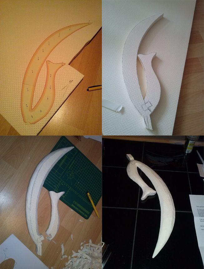 Sailor Moon - Sailor Saturn Silence Glaive Prop #2 by digitalAuge