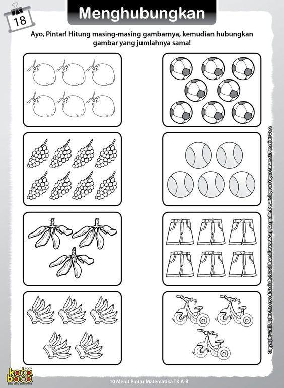 Baca Online Buku 10 Menit Pintar Matematika TK dan PAUD adalah buku aktivitas belajar matematika bergambar TK dan PAUD yang berisi 64 halaman aktifitas.
