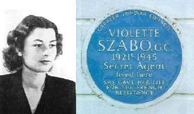 Violette Reine Elizabeth Szabo GC, née Bushell, (26 June 1921 – c. 5 February 1945) was a Special Operations Executive agent during the Second World War, and a posthumous recipient of the George Cross. On her second mission into occupied France, Szabo was captured by the German Army, interrogated and tortured, and deported to Germany where she was eventually executed at Ravensbrück concentration camp.