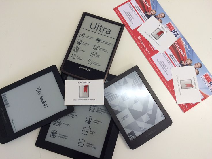 4x eBook Reader von Pocketbook plus IFA-Tickets gewinnen