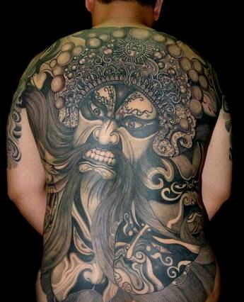 opera mask tattoo pictures to pin on pinterest tattooskid. Black Bedroom Furniture Sets. Home Design Ideas