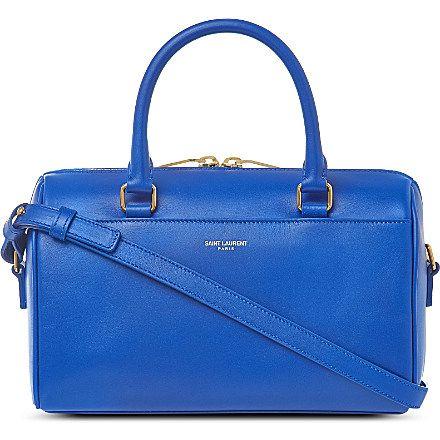 SAINT LAURENT Baby duffle bag (Bleu majorelle