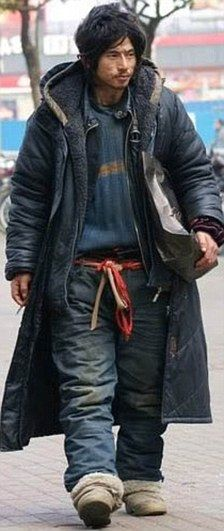 Rags to riches movie fame for homeless man who became 'China's sexiest tramp' | Mail Online