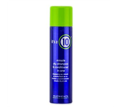 Best Dry Conditioners: It's a Ten Miracle Dry Shampoo + Conditioner 2-in-1. Maybe we're cheating here, but this incredible two-fer, $17, may be our favorite gym-bag staple to date. Citronellol imparts a lemon scent while fighting dirt build up, panthenol strengthens and keratin restores any lost moisture. #SelfMagazine