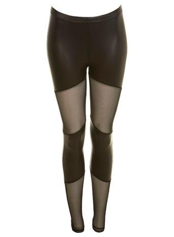 Black Mesh And Matt Leggings - Trousers & Leggings - New In - Miss Selfridge - StyleSaysBlack Leggings, Black Meshmatt, Style, Closets, Black Legs, Mesh Matte Legs, Legs Dominatrix, Black Mesh Matte