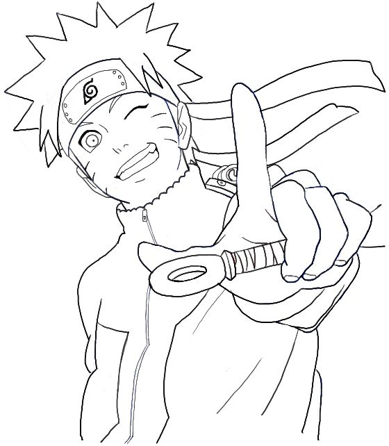 How to Draw Naruto Uzumaki Step by Step Drawing Tutorial