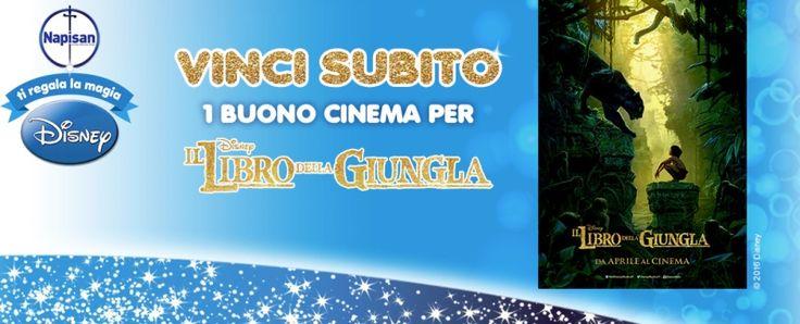 #Napisan ti regala la magia #Disney: #biglietti #cinema #omaggio