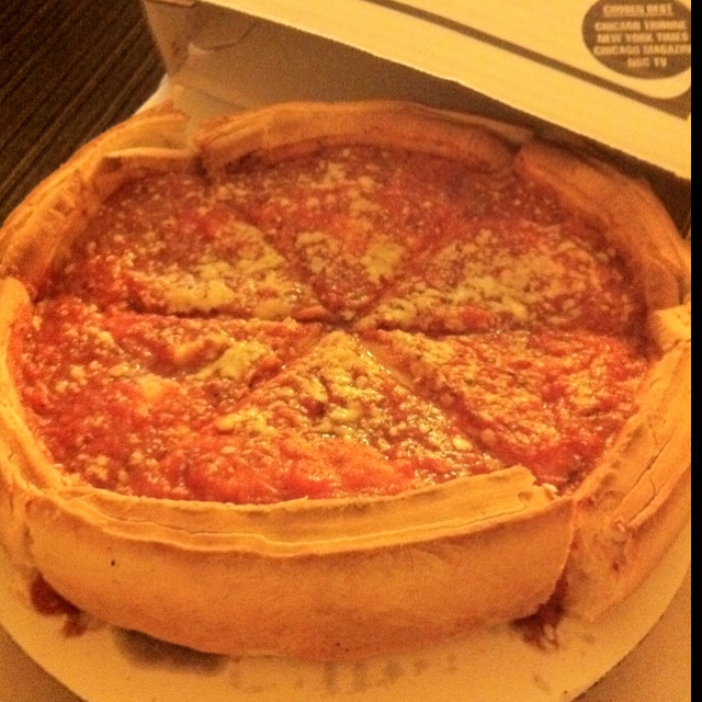 Chicago Stuffed Pizza