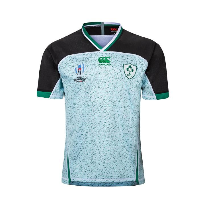 Irish Rugby Rugby Union Team Word Cup 2019 20 Replica Kit Shirt Jersey Www Worldsoccerfootballshop Com En 2020
