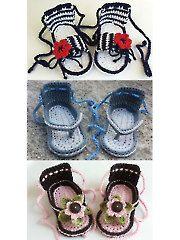 Crochet - Summer Sandals - #RAC1352