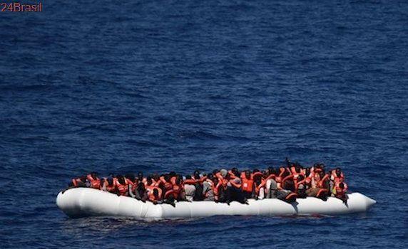 Guarda Costeira italiana salva 1,5 mil imigrantes em um dia