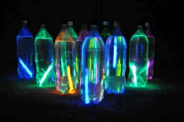Glow In The Dark Backyard Party - Kids Love It!