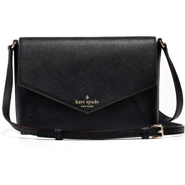 Rental kate spade new york accessories Cedar Street Large Monday Bag ($25) ❤ liked on Polyvore featuring bags, handbags, shoulder bags, purses, accessories, black, leather shoulder handbags, leather handbags, purse shoulder bag and purses crossbody