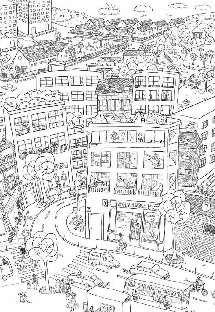 City Coloring Pages Best Coloring Pages For Kids Detailed Coloring Pages Fairy Coloring Pages Coloring Pages
