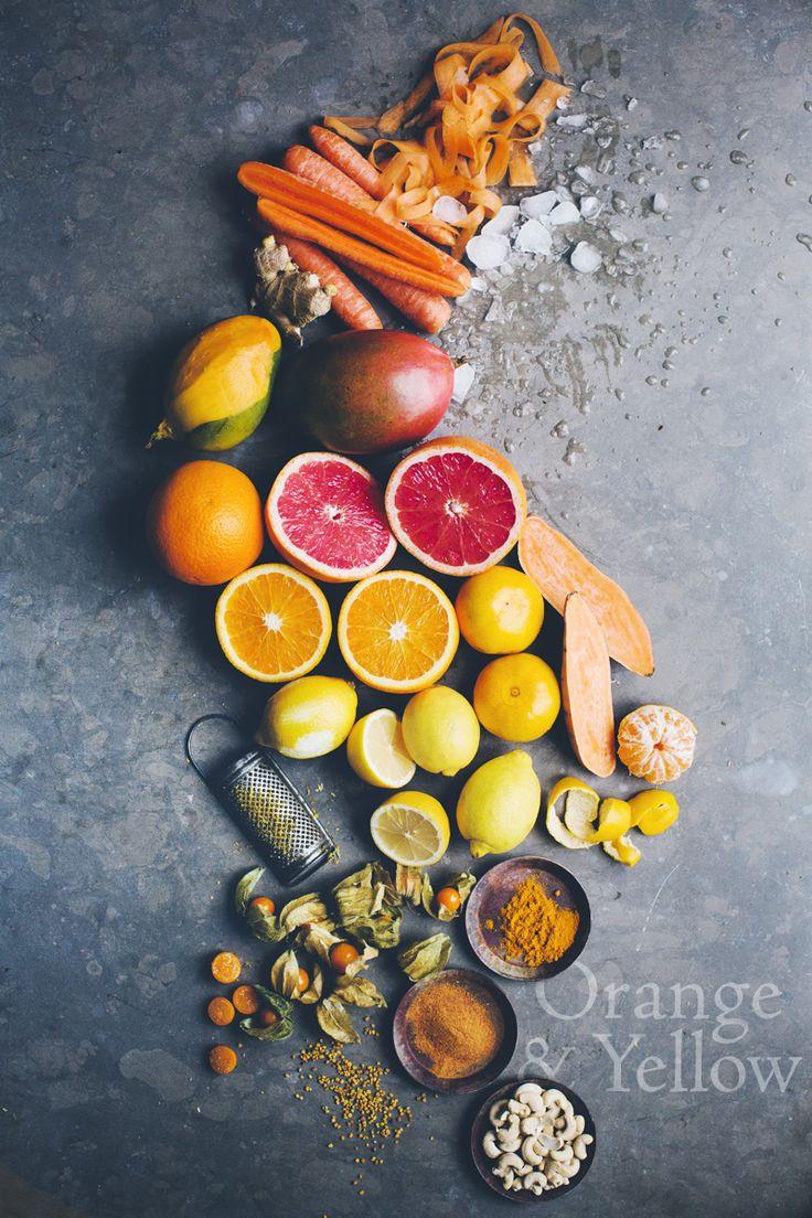 Yellow smoothie ingredients || Gren Kitchen Stories