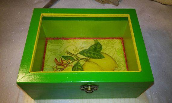 Mother's gift Birthday gift Green box Handmade by Zozelarium
