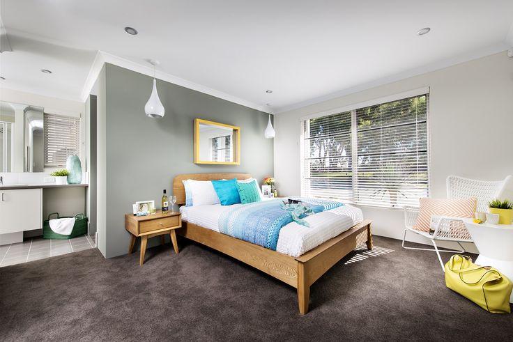 Main Bedroom - Monroe Display Home - Homebuyers Centre - Baldivis, WA Australia