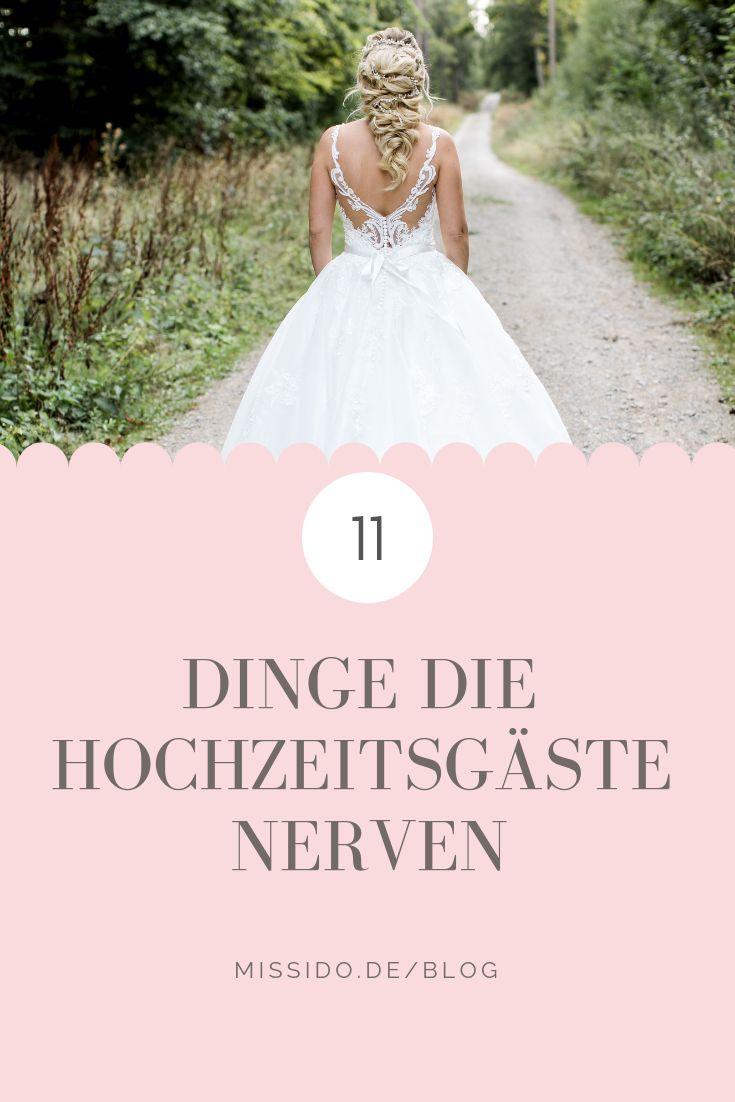 11 Dinge, die Eure Hochzeitsgäste nerven
