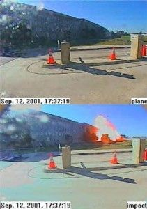 """Pentagon Lied About 9/11 Surveillance Video, Edited Out """"Plane"""". Ever since the tragic events of 9/11 many conspiracy theories have surfaced. Conspiracy theoris"""