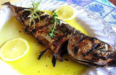 Grilled Mackerel (Σκουμπρί ) - Kalofagas - Greek Food & Beyond