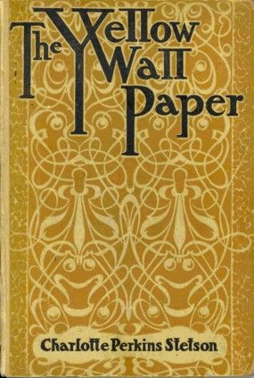 "The Yellow Wall Paper 1892 is collection of journal entries written by a woman confined her to the upstairs bedroom by her husband so she can recuperate from what he calls a ""temporary nervous depression – a slight hysterical tendency,"" a diagnosis common to women in that period. The windows of the room are barred, and there is a gate across the top of the stairs, allowing her husband to control her access to the rest of the house."
