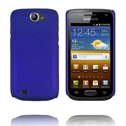 Hard Case (Sininen) Samsung Galaxy W Suojakuori