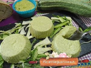 Flan di zucchine - ricetta flan di zucchine