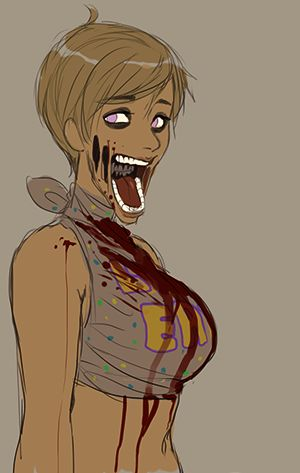 toy chica human