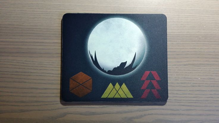 Destiny the Game mouse pad